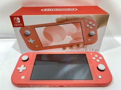 <title>古着 新品 中古 商い なら お宝あっとマーケット Nintendo Switch Lite ニンテンドースイッチライト コーラル 本体 ゲーム 53G00202205</title>