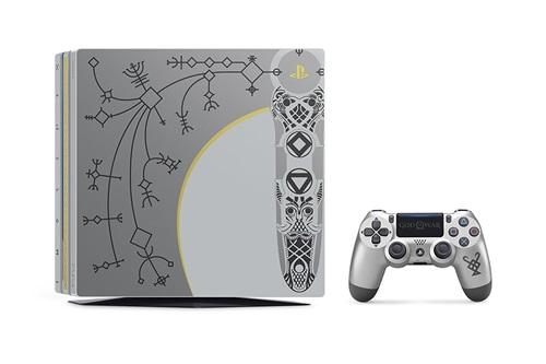 【新品】SONY PlayStation 4 Pro ゴッド・オブ・ウォー リミテッドエディション CUHJ-10021 PS4