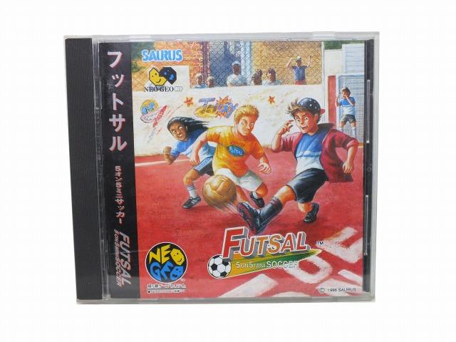 売り込み 1年保証 中古 ネオジオCDソフト FUTSAL フットサル CD-ROM