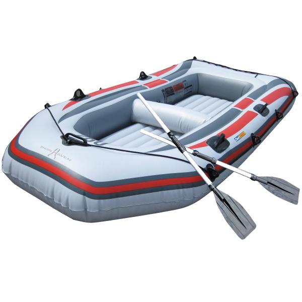 ボート ゴムボート 4人乗り ゴムボート オール2本セット PVC プラスチック 最大積載350Kg ファミリーサイズ アウトドア 避難用 防災 レスキュー 送料無料 ###4人乗りゴムボート236###