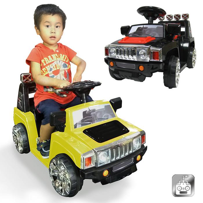 電動乗用カー 乗用玩具 ラジコン付 ハマーtype プロポでの操作や足踏みペダルでの操作もOK 送料無料/###乗用カーPV003R有###