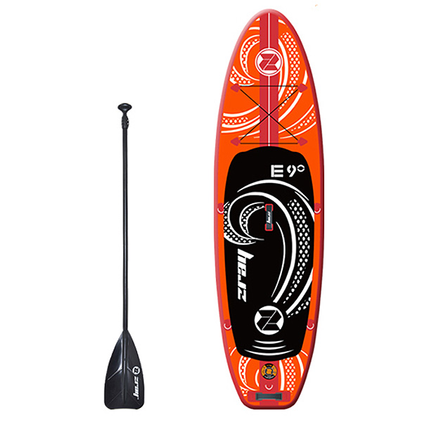 SUP 9' インフレータブル スタンドアップパドルボード ボート エアポンプ付 マリンスポーツ サーフィン ボディボード 送料無料 ###パドルボート37447###