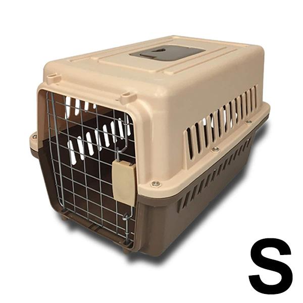 ペットキャリー おでかけ 激安格安割引情報満載 ドライブ 散歩 通院 ペット ハードキャリー 送料無料 贈物 ペットキャリーケース 小型犬 ###ペットキャリ001茶### 48×31×30cm ネコ用 ハードタイプ