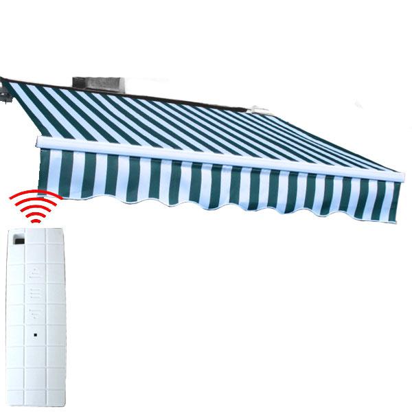 巻取り式日よけスクリーン 簡単な電動式 電動 オーニングテント 2m リモコン付き 日よけ 雨よけ オーニング 日除け 雨除け 店舗 サンシェード ### ###2m電動オーニング 安売り デッキ 新作 人気 送料無料 ベランダ お宝プライス シェード 大型 テント