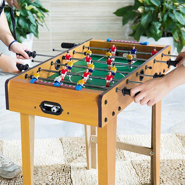友達や家族みんなで楽しめるテーブルサッカーゲーム 特大 お買い得 テーブルサッカー 人気の定番 ボードゲーム サッカー テーブルゲーム フットボール 大型 フーズボール ゲーム 送料無料 ###サッカーゲーム6GGJZD### 卓上 FOOSBALL