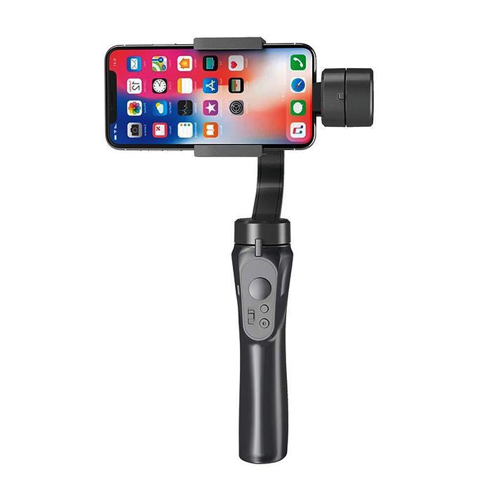 自撮り棒 スマホ スタビライザー 3軸 ジンバル セルカ棒 手ブレ 防止 スマートフォン スタンド 撮影 iPhone Android Bluetooth 送料無料 ###スタンド3-AXIS###