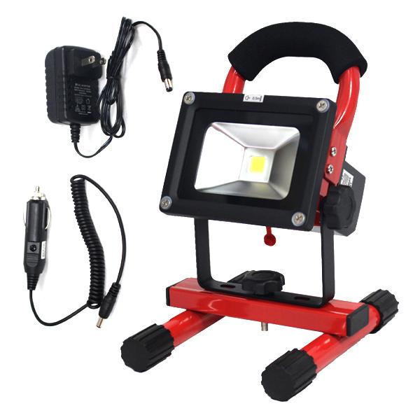 投光器 ライト 充電機能付 お得 5W SMD AC100VDC12V###投光器TGD-5W赤### 格安激安 LED