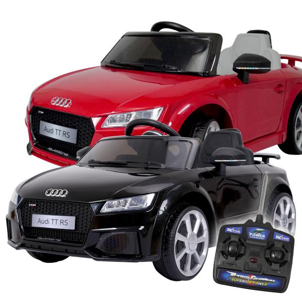 お子様やお孫さんへのプレゼントに!正規ライセンス品でハイクオリティ 電動乗用カー Audi TT RS アウディ 正規ライセンス 充電式 プロポ付き 乗用玩具 送料無料###乗用カーJE1198###