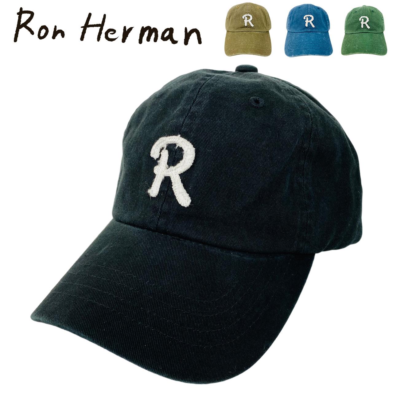 送料無料 ロンハーマン ロゴ キャップ 帽子 Ron 新品 Herman 1年保証 ベースボールキャップ 限定品