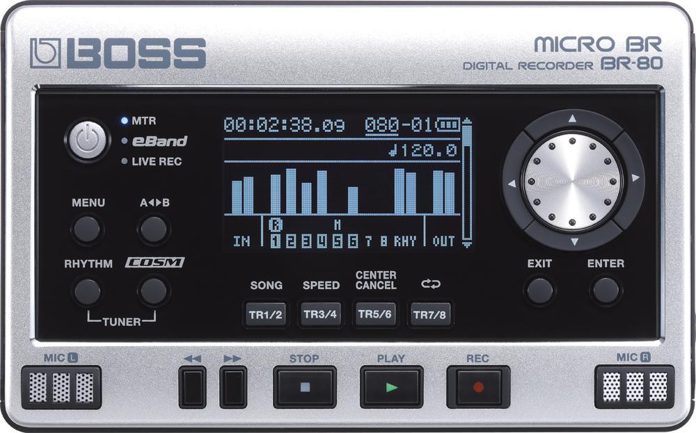 BOSS ボス マルチトラックレコーダー MICRO BR BR-80【送料無料】【smtb-ms】【zn】