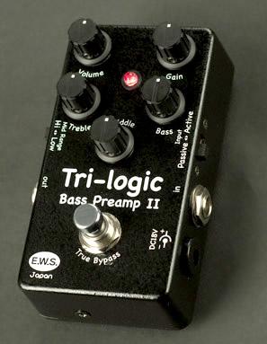 E.W.S. Tri-logic Bass Preamp II ベースプリアンプ 【送料無料】【smtb-ms】【zn】