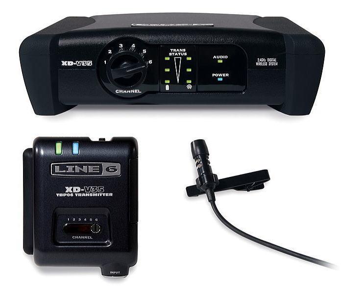 LINE6 XD-V35L ライン6 デジタル・ワイヤレス ラベリア・マイク・システム【送料無料】【smtb-ms】【zn】