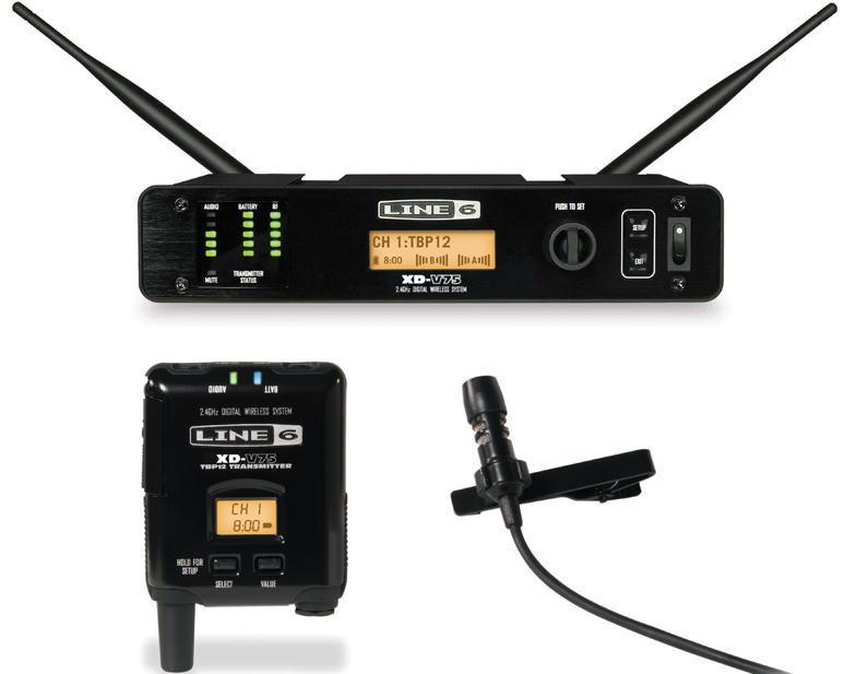 LINE6 XD-V75L ライン6 デジタル・ラベリア・ワイヤレス・システム【送料無料】【smtb-ms】【zn】