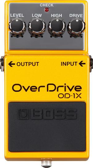 【即日発送O.K】BOSS ボス コンパクト・エフェクター OverDrive OD-1X【送料無料】【smtb-ms】【zn】