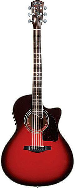 S.Yairi YE-4M Wineburst S.ヤイリ エレクトリックアコースティックギター【送料無料】【smtb-ms】【zn】