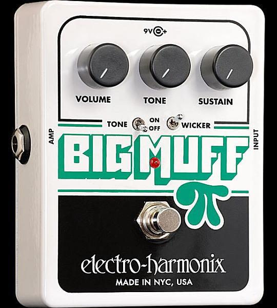 electro-harmonix Big Muff Pi with Tone Wicker ギター用ディストーション【smtb-ms】【zn】
