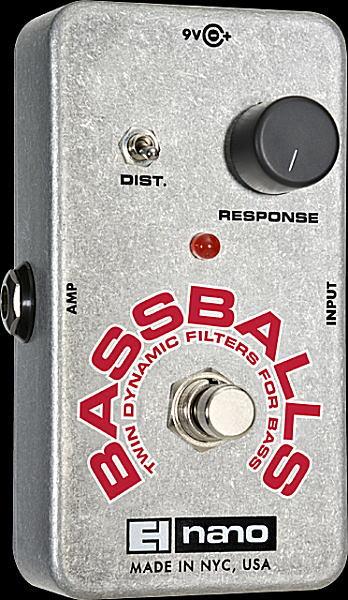electro-harmonix Bassballs ベース用ツイン・ダイナミック・フィルター【RCP】【zn】:楽器はじめるならここ!!大谷楽器