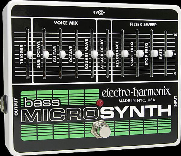 electro-harmonix Bass Micro Synthesizer ベース用マイクロシンセ【smtb-ms】【zn】