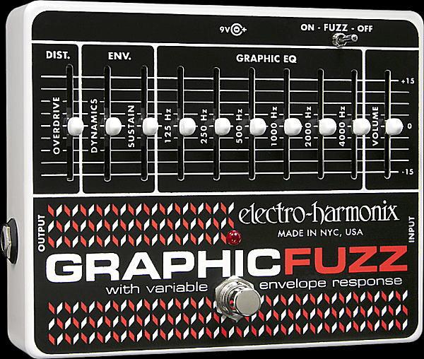 electro-harmonix Graphic Fuzz ディストーション【smtb-ms】【zn】