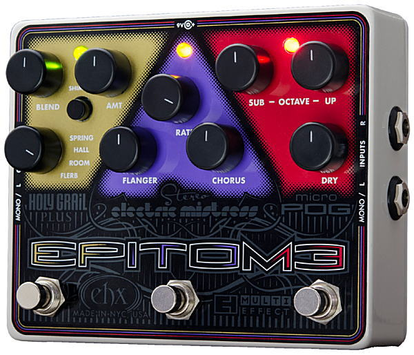electro-harmonix Epitome マルチ・エフェクト・ペダル【smtb-ms】【zn】