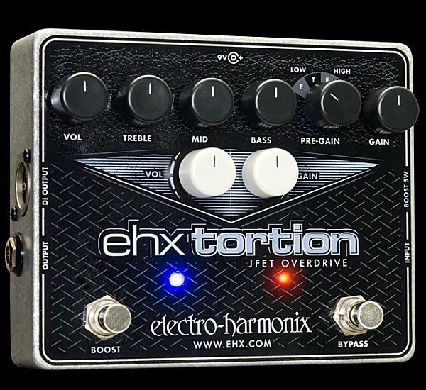 electro-harmonix EHX Tortion オーバードライブ【smtb-ms】【zn】