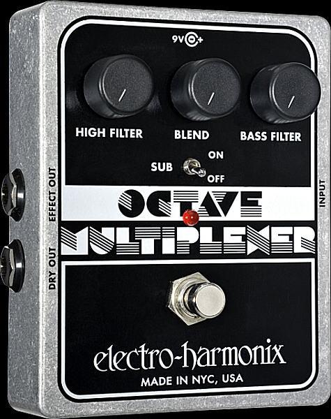 electro-harmonix Octave Multiplexer モノフォニック・オクターバー【smtb-ms】【zn】