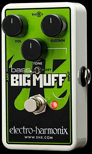electro-harmonix Nano Bass Big Muff Pi ベース用ディストーション【smtb-ms】【zn】