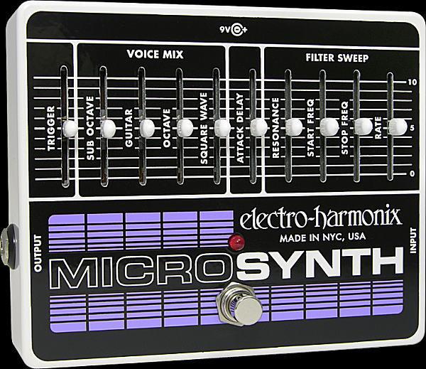 electro-harmonix Micro Synthesizer アナログ・ギター・マイクロシンセ【smtb-ms】【zn】