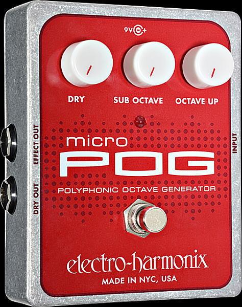 electro-harmonix Micro POG ポリフォニック・オクターブ・ジェネレーター【smtb-ms】【zn】
