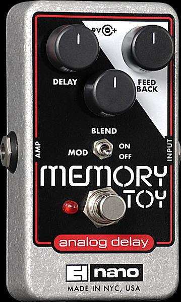 【即日発送O.K】electro-harmonix Memory Toy アナログ・ディレイ【smtb-ms】【zn】