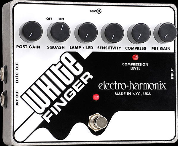 electro-harmonix White Finger Analog Optical Compressor コンプレッサー【smtb-ms】【zn】