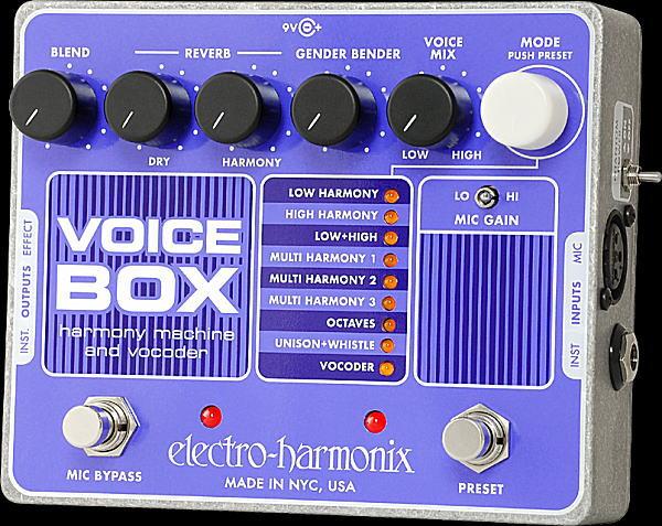 electro-harmonix Voice Box ヴォーカル・シンセ・プロセッサー【smtb-ms】【zn】