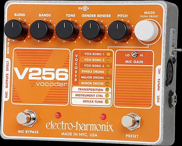 electro-harmonix V256 Vocoder 未来型ボコーダー【smtb-ms】【zn】
