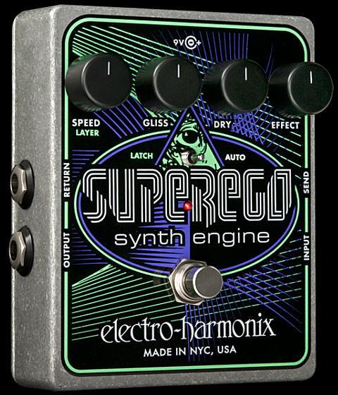 electro-harmonix Superego スーパー・イーゴー・シンセ・エンジン【smtb-ms】【zn】