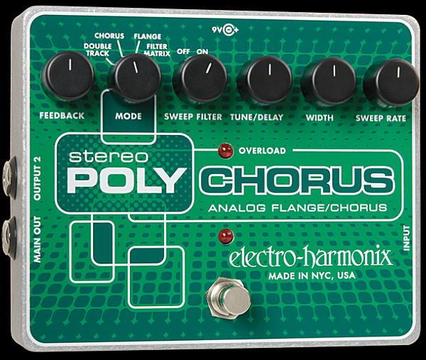 沸騰ブラドン electro-harmonix Stereo Polychorus Polychorus electro-harmonix Stereo コーラス/フランジャー【smtb-ms】【zn】, Julie Fain Art:444c0be0 --- fabricadecultura.org.br