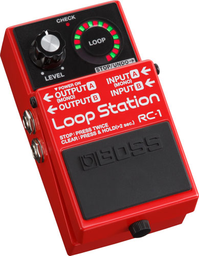【即日発送O.K】BOSS Loop Station RC-1 ボス コンパクト・エフェクター【zn】