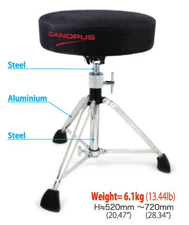 CANOPUS II Hybrid Drum CDT2-1HY【zn】 Throne II カノウプス ハイブリッドドラムスローン2 CDT2-1HY Throne【zn】, Lucy shop:47f7cf87 --- officewill.xsrv.jp