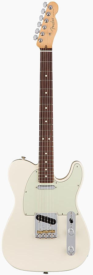 FENDER エレキギター AMERICAN PROFESSIONAL TELECASTER Rosewood Fingerboard, Olympic White【smtb-ms】【zn】