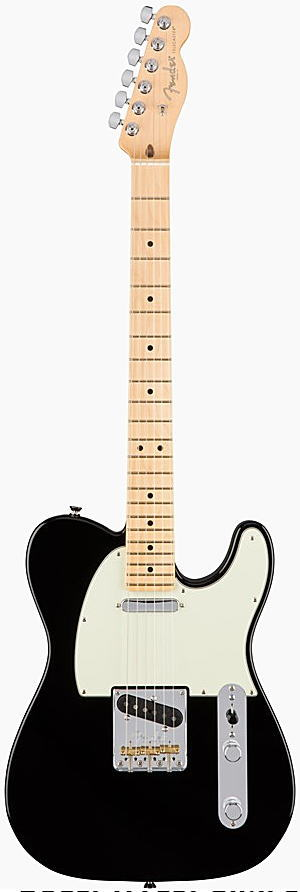 FENDER エレキギター AMERICAN PROFESSIONAL TELECASTER Maple Fingerboard, Black【smtb-ms】【zn】