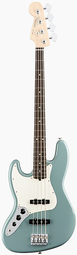 FENDER エレキベース AMERICAN PROFESSIONAL JAZZ BASS LEFT-HAND Rosewood Fingerboard, Sonic Gray【smtb-ms】【zn】