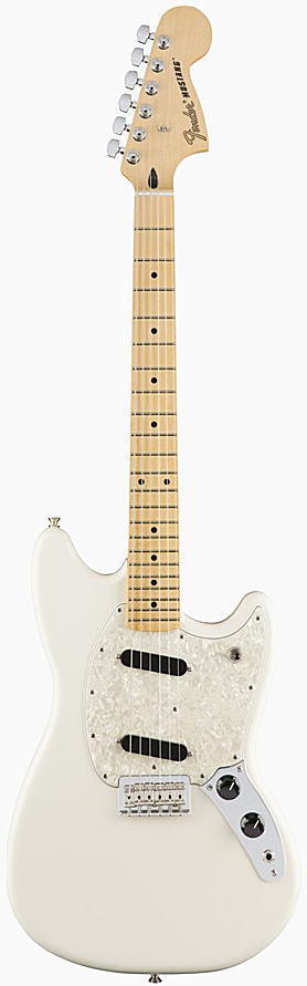 FENDER エレキギター MUSTANG Maple Fingerboard, Olympic White【smtb-ms】【zn】