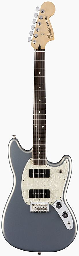 FENDER エレキギター MUSTANG 90 Rosewood Fingerboard, Silver【smtb-ms】【zn】