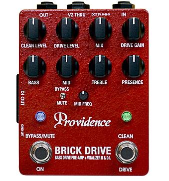 Providence BASS DRIVE PREAMP+VITALIZER B&D.I BRICK DRIVE BDI-1【送料無料】【smtb-ms】【zn】