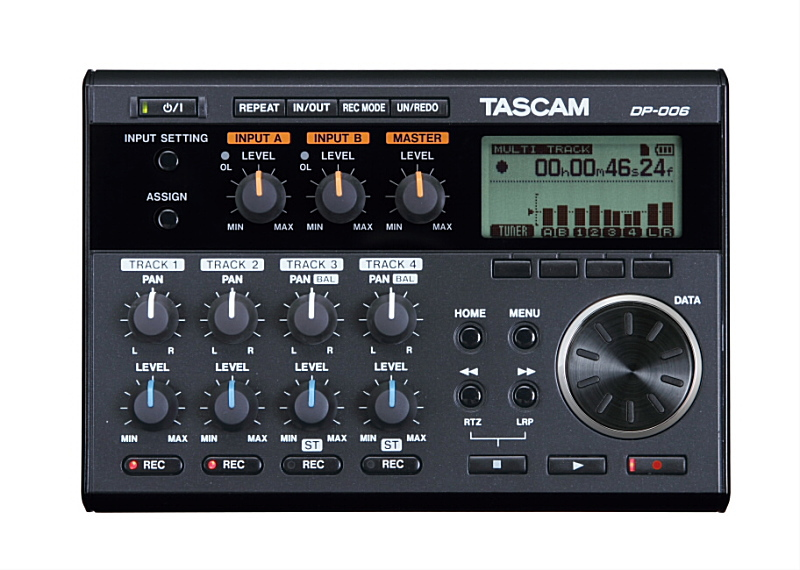 TASCAM タスカム DP-006 6トラック SD/SDHC マルチトラックレコーダー【smtb-ms】【zn】