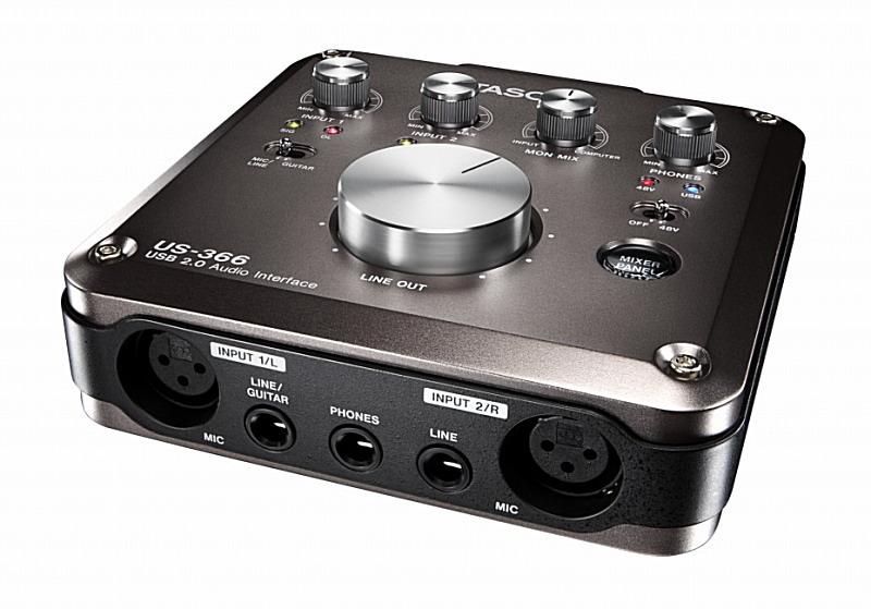 TASCAM タスカム US-366-CU DSPミキサー搭載USB2.0 192kHz対応オーディオインターフェース【smtb-ms】【zn】