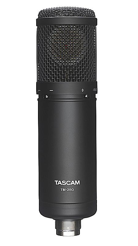 TASCAM タスカム TM-280 ラージダイヤフラム・コンデンサーマイクロホン【smtb-ms】【zn】