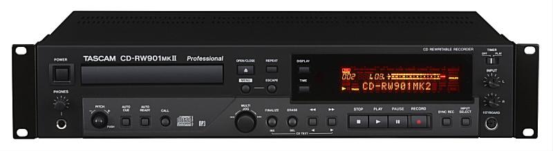 TASCAM タスカム CD-RW901MKII CDレコーダー/プレーヤー【smtb-ms】【zn】