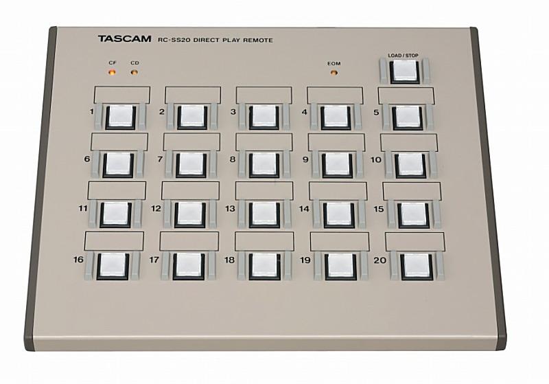 TASCAM タスカム RC-SS20 (SS-CDR200、SS-R200、HD-R1、HS-2、HS-8用コントローラー)【smtb-ms】【zn】