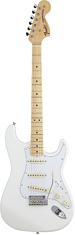 FENDER MADE IN JAPAN HYBRID 68S STRATOCASTER フェンダー エレキギター・ストラトキャスター Arctic White【smtb-ms】【zn】