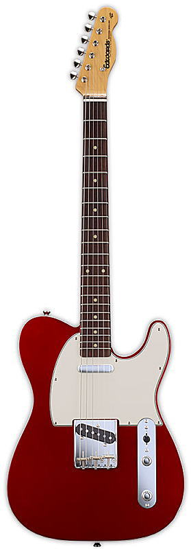 EDWARDS エドワーズ エレキギター E-TE-98 CTM Candy Apple Red【smtb-ms】【zn】